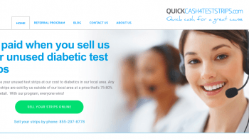 Sell Diabetic Test Strips QuickCash4TestStrips com